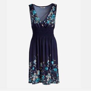 Blue floral cottagecore sundress